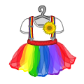 Rainbowclowndress.png