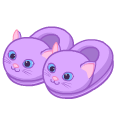 Purplekittenslippers.png
