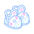 Snowflakeslippers.png