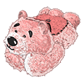 Tickledpinkgrizzlybearbed.png