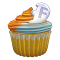 Friendsorangeblastcupcake.png