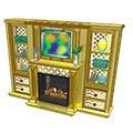 Goldsparklefireplacebookcase.png