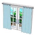 Blueginghambalconywindow.png