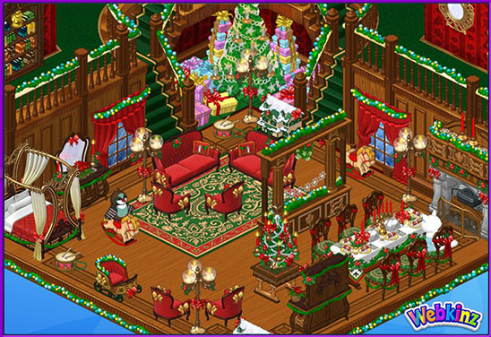 Victorian Christmas Theme Webkinz Pictures