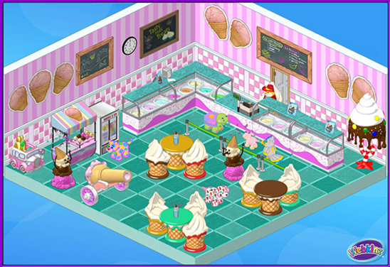 Ice Cream Parlor Theme Webkinz Pictures