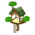 Peacefulforesttreehousebed.png