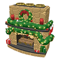 Mistletoemantlefireplace.png
