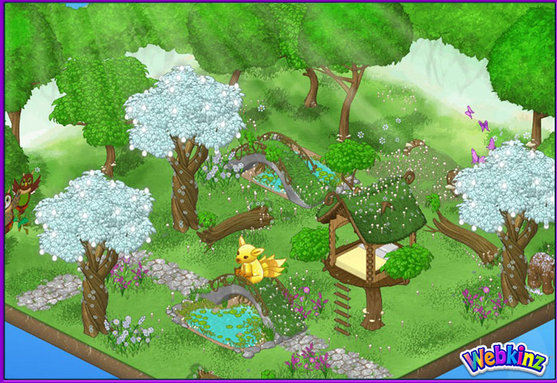 Peaceful Forest Theme Webkinz Pictures