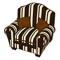 Chocolatestripedarmchair.png