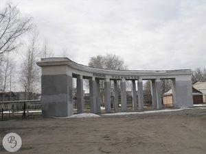 Главный вход на стадион «Локомотив» (2007)