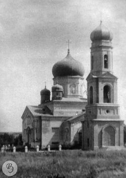 Никольская церковь села Шилово-Голицыно(фото нач. XX в.)