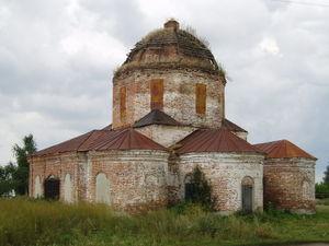 Здание Троицкой церкви в с. Чиганак (Блохино) (2005) Объект культурного наследия Ртищевского района
