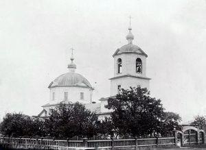 Покровская церковь села Борки (нач. XX в.)