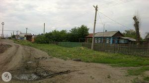 Общий вид на улицу от дома № 10