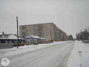 Улица 60 лет Октября по направлению к Советской улице (2007)