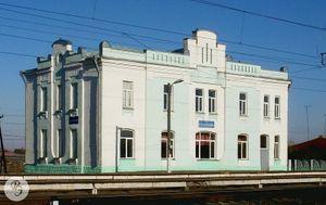 Вокзал станции Салтыковка (2010)