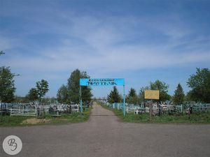 Въездные ворота на кладбище «Третьяк» (2007)