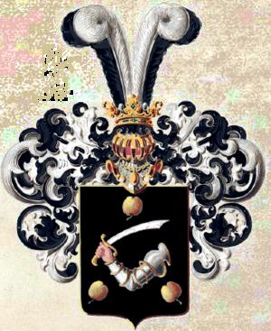 Герб рода Яблочковых