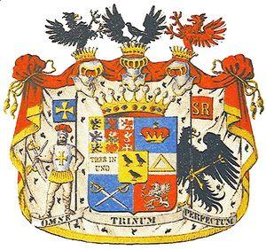Герб рода графов Борх