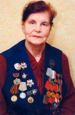 Александра Тимофеевна Коршунова