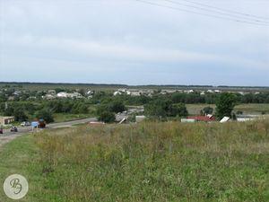Вид на село со стороны г. Ртищево