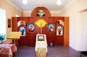 Интерьер Матронинской церкви