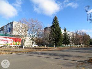 Улица Красная от администрации до больницы (2014 год)