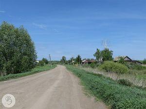 Деревня Дубасово, въезд со стороны села Шило-Голицыно