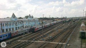 Путевое развитие станции Ртищево I