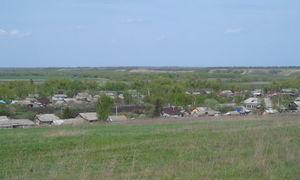 Общий вид на село Александровку