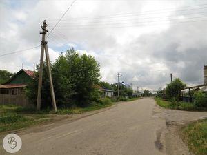 Общий вид улицы Полевой (от Советской улицы)