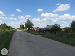 Несколько жилых домов в центре деревни (2013)