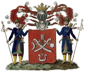 Герб рода Ртищевых