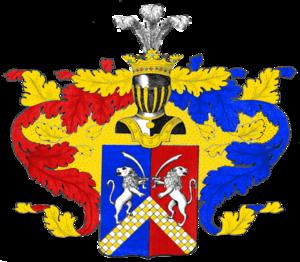 Герб рода Владыкиных (потомство Матвея Васильевича)