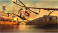 Sherman and Penny on Leonardo da Vinci's flying machine.png