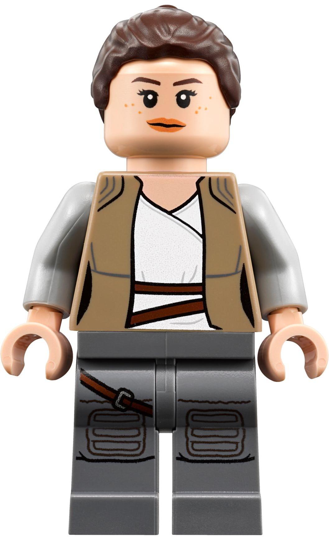 LEGO NEW MINIFIGURE TORSO WITH REDDISH BROWN HANDS FINN STAR WARS PIECE JACKET