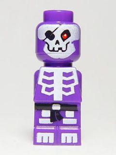Skeleton General Lego Micro figure from set 3856 Ninjago