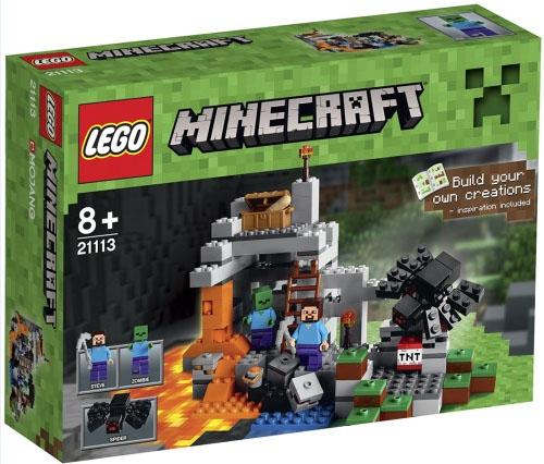 Lego Black Spider 21118 21113 Minecraft Animal Minifigure