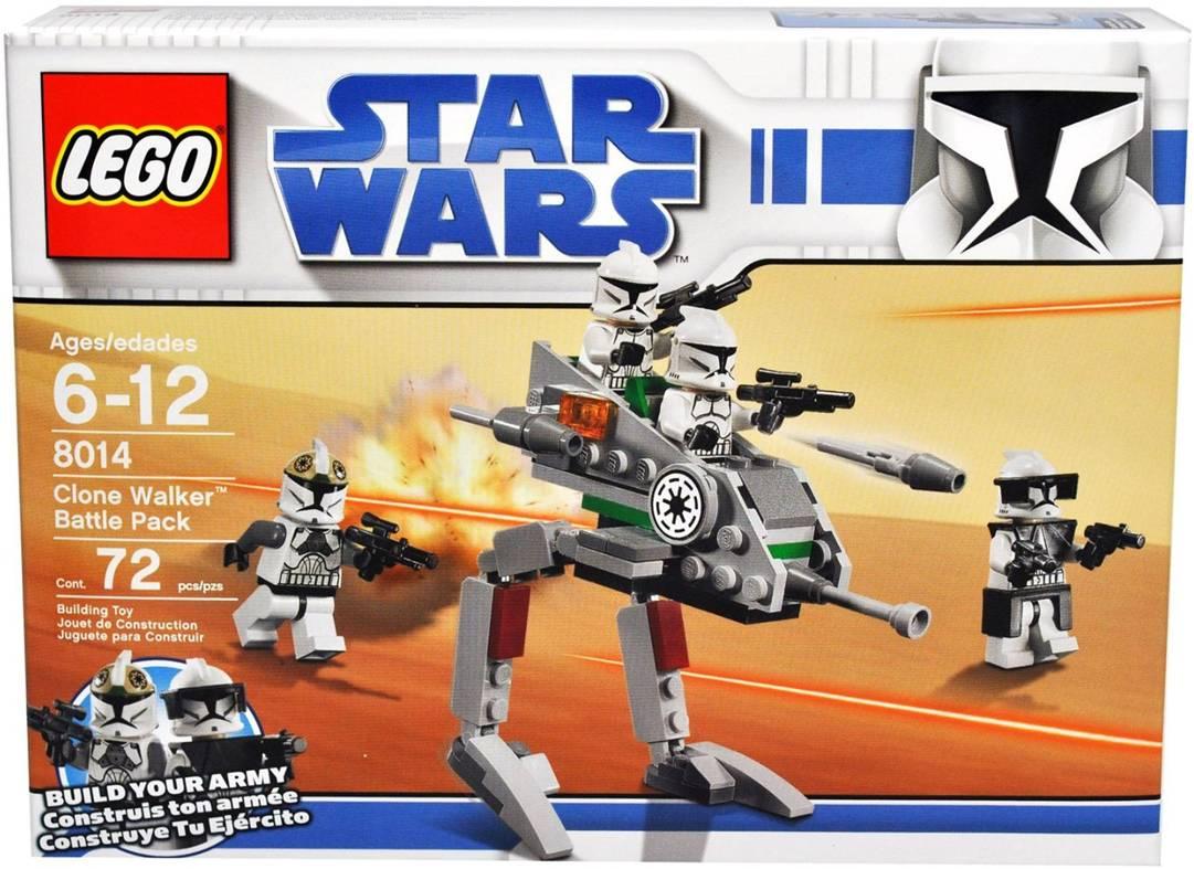LEGO Recipe//instruction Star Wars 8015
