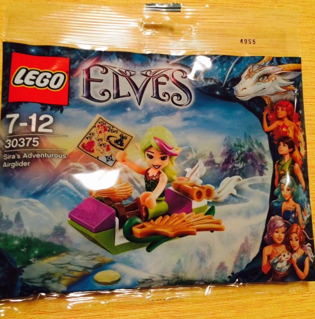 New Retired. LEGO #30375 Sira's Adventurous Air Glider