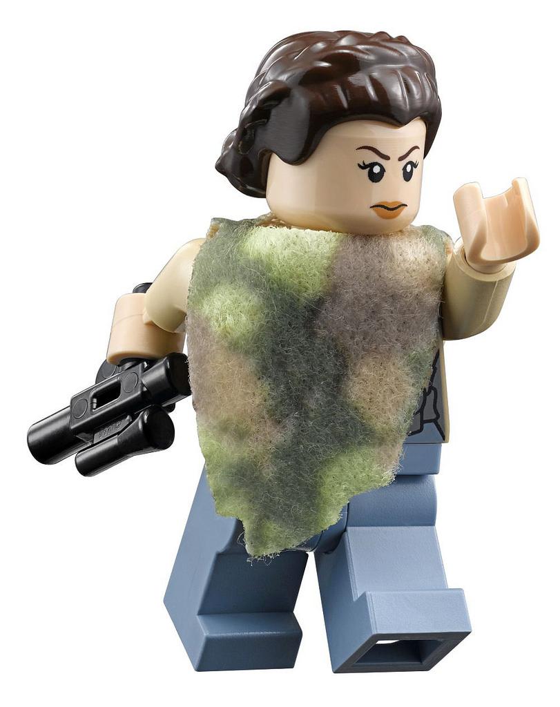 NEW LEGO STAR WARS GENERAL LEIA MINIFIG 75140 minifigre princess force awakens