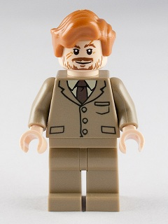 HARRY POTTER MINI FIG ACCESSORY LEGO 4756 PROFESSER LUPIN // WEREWOLF HEAD