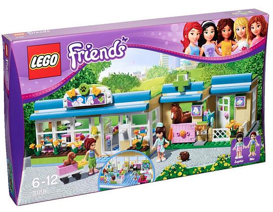 Lego Minifigure Figure Hedgehog Oscar Reddish-Brown Friends 3185 3188