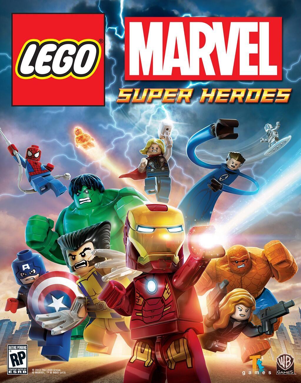 Custom Jigsaw Marvel Super heroes minifigures punisher on lego bricks
