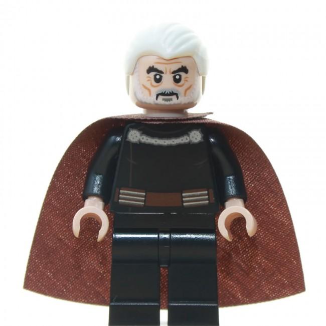 Lego Count Dooku Lightsaber Silver Hilt for Star Wars Minifigure NEW