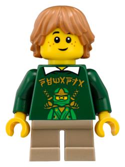 Ivy Walker LEGO Ninjago Figur Minifigur Misako Ninjago City 70620