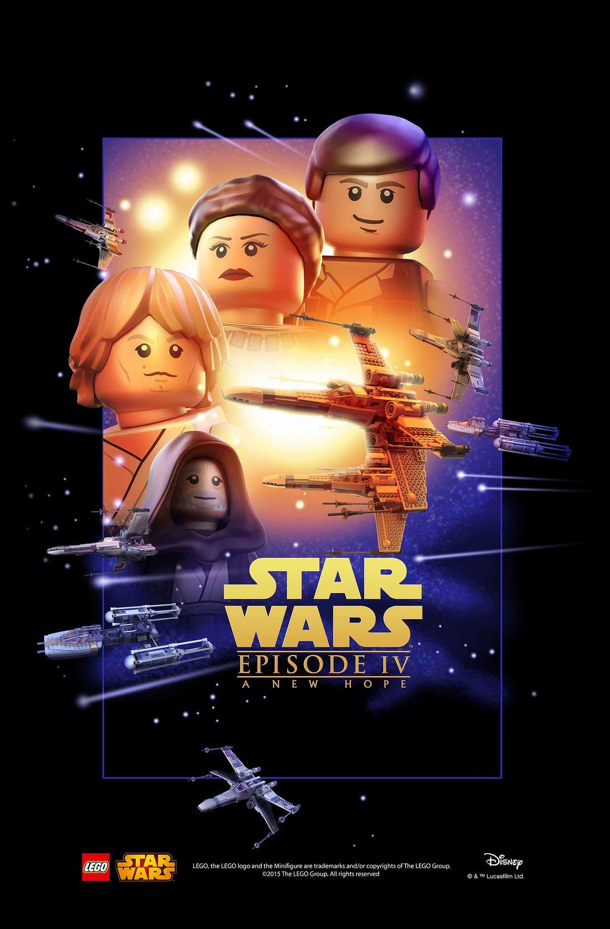 Star Wars Episode Iv A New Hope Brickipedia The Lego Wiki