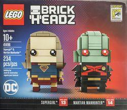 41496 Supergirl & Martian Manhunter - Brickipedia, the LEGO Wiki