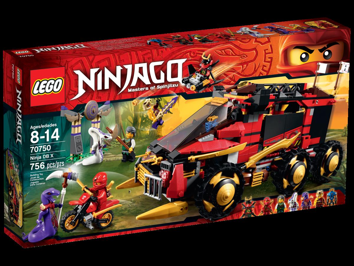 LEGO Ninjago Chop /'rai minifigura Set da 70748 70750