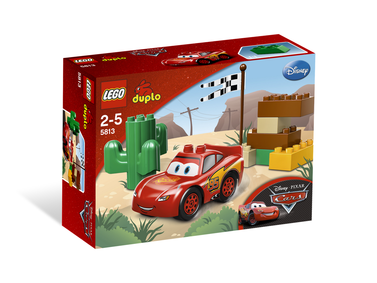 5813 Lightning Mcqueen Brickipedia The Lego Wiki